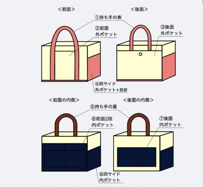 混合トート color